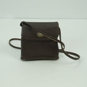 WOMENS VINTAGE COACH CROSS BODY BAG